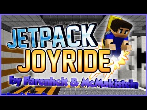 ★JETPACK JOYRIDE IN MINECRAFT VANILLA!!! - 1.9 Epic Custom Mini-Game! ★