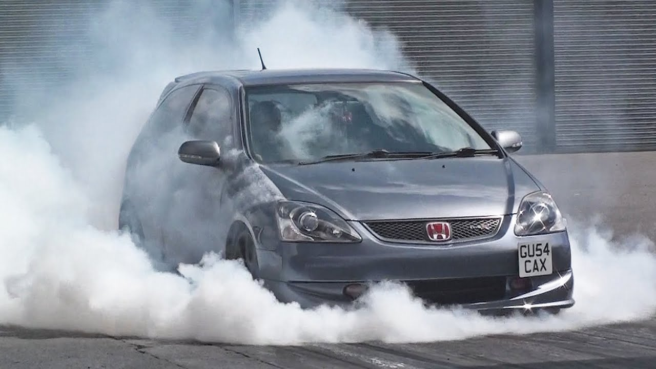 honda civic ep3 type r runs at 96 mph youtube. Black Bedroom Furniture Sets. Home Design Ideas