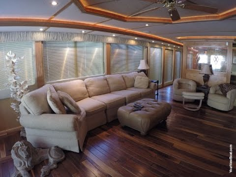 2002 Fantasy 19 X 100wb Houseboat For Sale On South