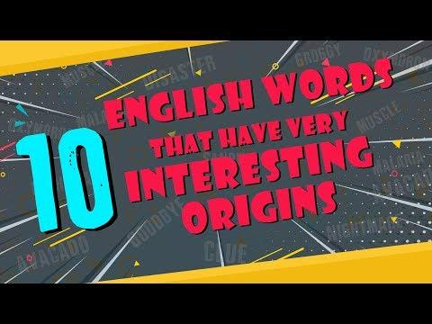 10 English Words That Have Very Interesting Origins | Etymology| Simbly Chumma