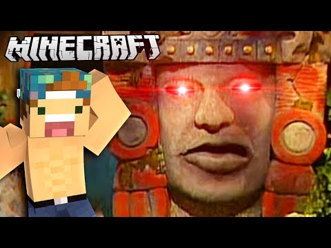 LEGENDS OF THE HIDDEN TEMPLE IN MINECRAFT!