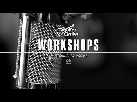 guitar center workshops vocal mic techniques youtube. Black Bedroom Furniture Sets. Home Design Ideas