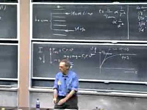 Lecture 12  Non Conservative Forces   Resistive Forces   Air Drag   Terminal Velocity