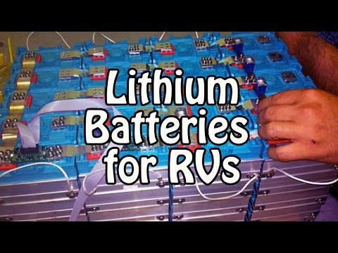 Lithium Batteries for RVs - LFP / LiFePO4