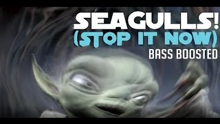 """""""SEAGULLS! (Stop It Now)"""" -- A Bad Lip Reading of The Empire Strikes Back Bass Boosted (HILARIOUS)"""