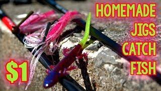 UNIQUE HOMEMADE JIG CATCHES FISH Walmart Challenge