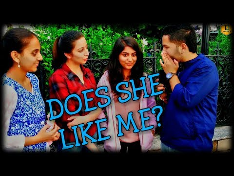 HOW TO KNOW IF SHE LIKES YOU!!! 🔥😱🔥    PUBLIC REACTION #11    #DRAGTA_JI