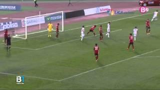 Gol RCD Mallorca 0 - Huesca 1. Liga Adelante 15/16
