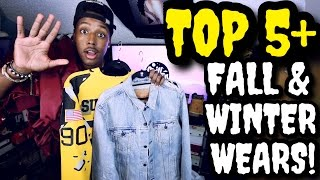 TOP 5 MENS FALL & WINTER 2016 ESSENTIALS!!!
