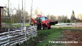 Трактор TYM T433 экскаватор-погрузчик(Экскаватор-погрузчик на базе американского трактора TYM T433. ТИМ трейд - официальный дилер TYM TRACTORS. МОСКВА:..., 2013-05-22T05:30:21.000Z)