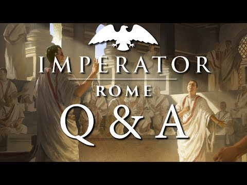 Imperator: Rome | Q&A with Johan Andersson