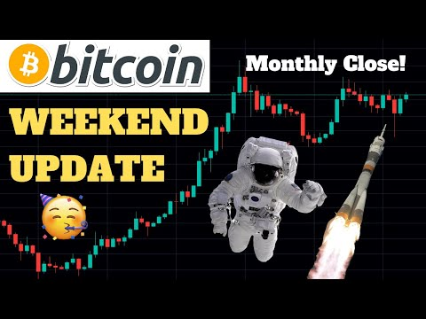 BITCOIN WEEKEND UPDATE! MONTHLY CLOSE! CRISIS IN AMERICA! LIVE TECHNICAL ANALYSIS, PRICE & TRADING