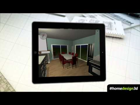 HOME DESIGN 3D - V2.5 TRAILER - IPHONE IPAD