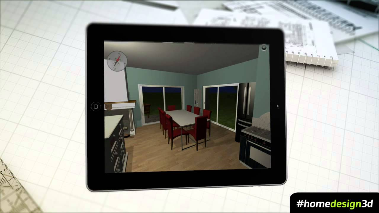 HOME DESIGN 3D - V2.5 TRAILER - IPHONE IPAD - YouTube