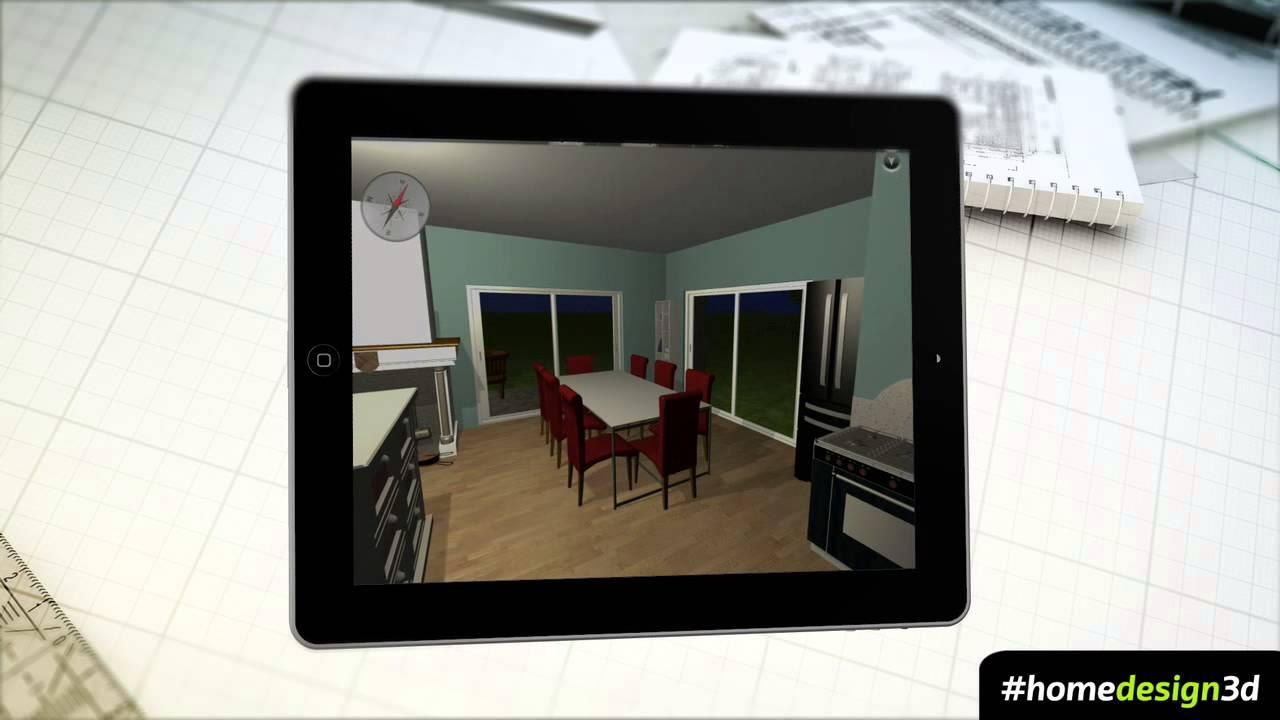 HOME DESIGN 3D V2 5 TRAILER IPHONE IPAD YouTube
