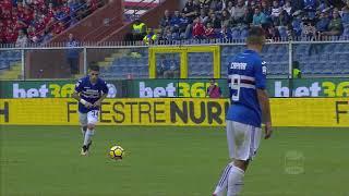 Il gol di Torreira (26') - Sampdoria - Chievo 4-1 - Serie A TIM 2017/18