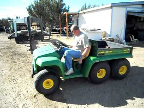 john deere 6x4 gator utility vehicle youtube. Black Bedroom Furniture Sets. Home Design Ideas