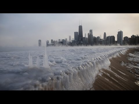 Record Cold Freezing in US - Polar Temperatures : News From Washinghton