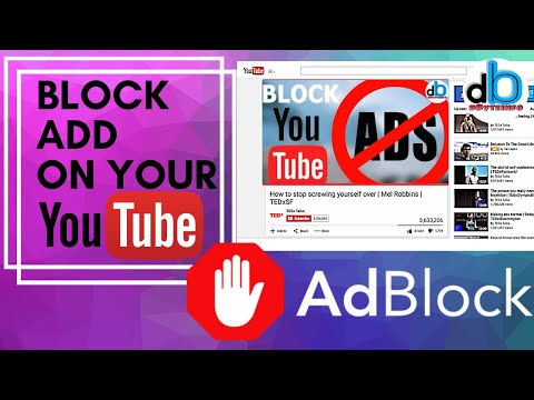 How to Block  YouTube Ads on Laptop and PC | AdBlock | 100% Working.