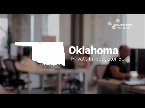 Oklahoma Private Investigator Bond