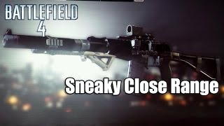 Battlefield 4 AS VAL Loadout -Sneaky Close Quarters(PS3)
