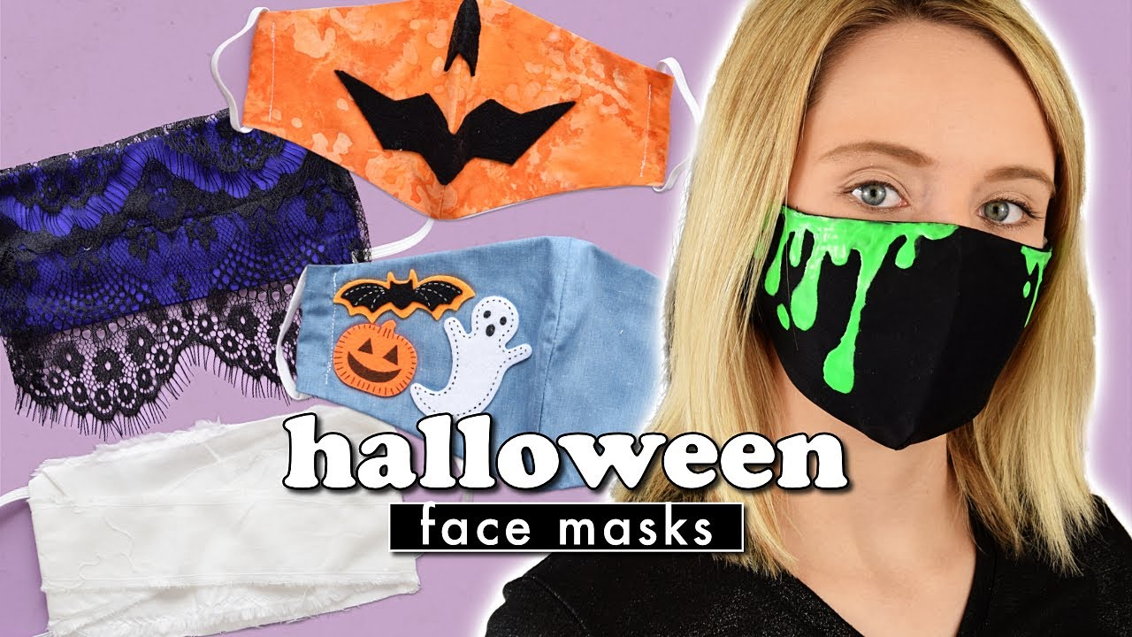 View Halloween Face Mask Design Images