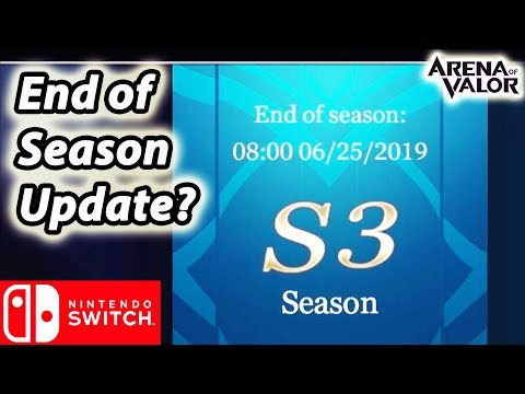 Will there be an end of season update? (AOV - Nintendo