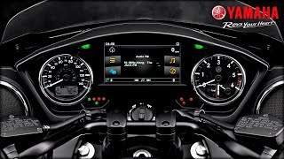 Yamaha Star Eluder Motorcycle Infotainment System