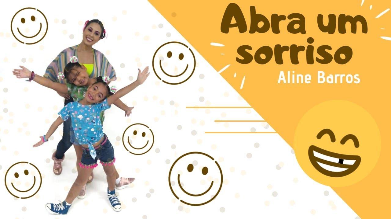 Abra Um Sorriso Aline Barros Coreografia Cassia Wood Youtube