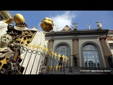 CHAOS2017 excursion Dali Museum-Girona City (UHD-4K SlideShow)