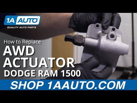 How to Replace AWD Actuator 94-02 Dodge Ram 1500