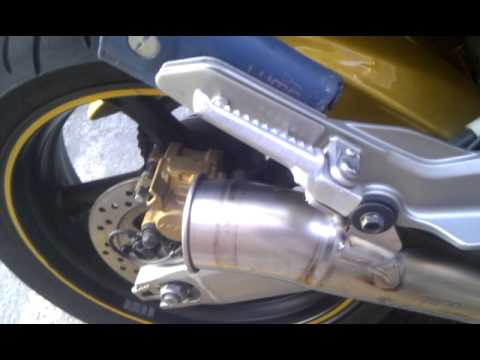 AKRAPOVIC Megaphone con DB Killer HONDA CB600F Hornet 07 3gp