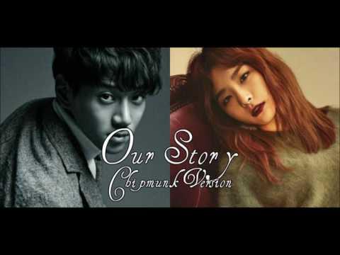 Hwang Chi Yeol X Seulgi - Our Story feat. Kassy [Chipmunk Version]