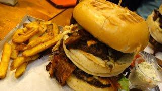 Spontan Vlog - Food Challenge Barn Burger - Bypass Czyli Rozjemca Tasiemca - Warszawa