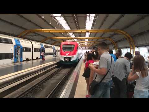 Leonardo Express Train n Fiumicino Airport (Best way to reach Roma from Airport)