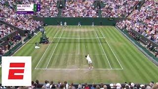 Wimbledon 2018 Highlights: Del Potro vs. Simon 4th Set Tiebreak [FULL] | ESPN