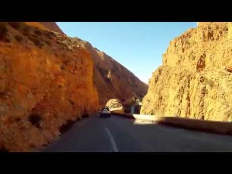 Most Dangerous Roads (Dades Gorge,Morocco) GoPro