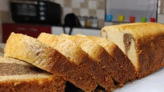 EGGLESS MARBLE CAKE || WITHOUT OVEN || HOMEMADE RECIPE || EASY TO MAKE