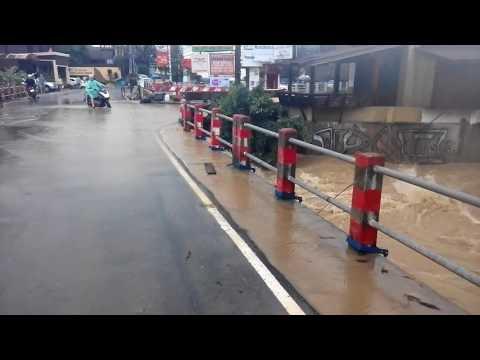 Koh Samui flooding at Lamai beach.