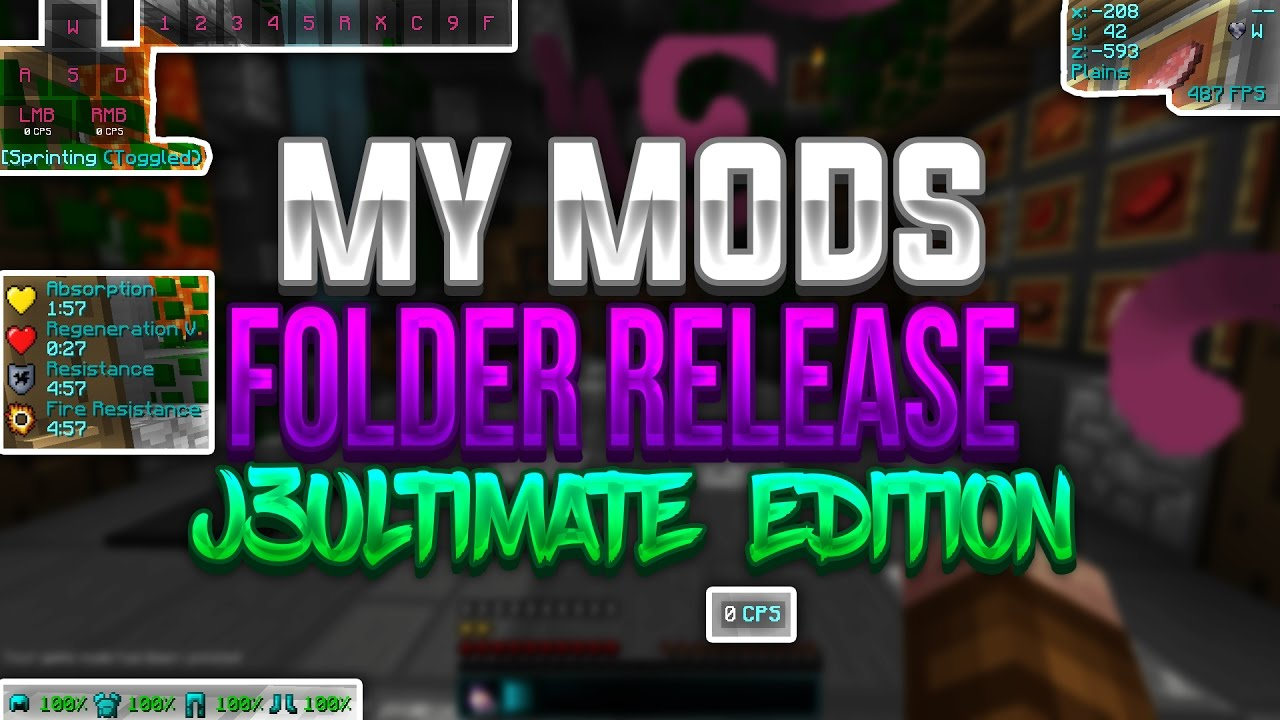how to add mods in j3ultimate