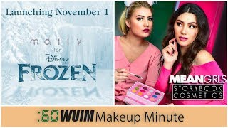 Mally Releases the FROZEN Collection! + Storybook Cosmetics Launches Mean Girls! | Makeup Minute