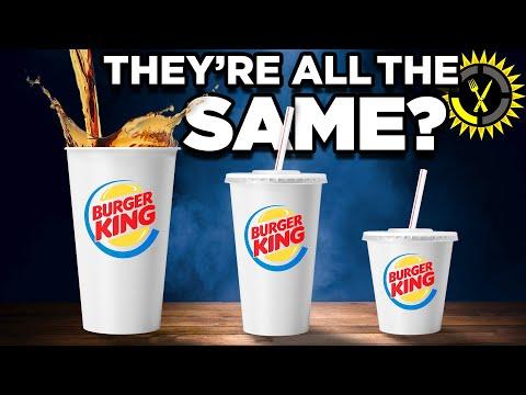 Food Theory: Never Order A Burger King Medium Soda! - The Food Theorists