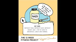 The fitness project 2018 - Week 2 guideline - Eat ghee