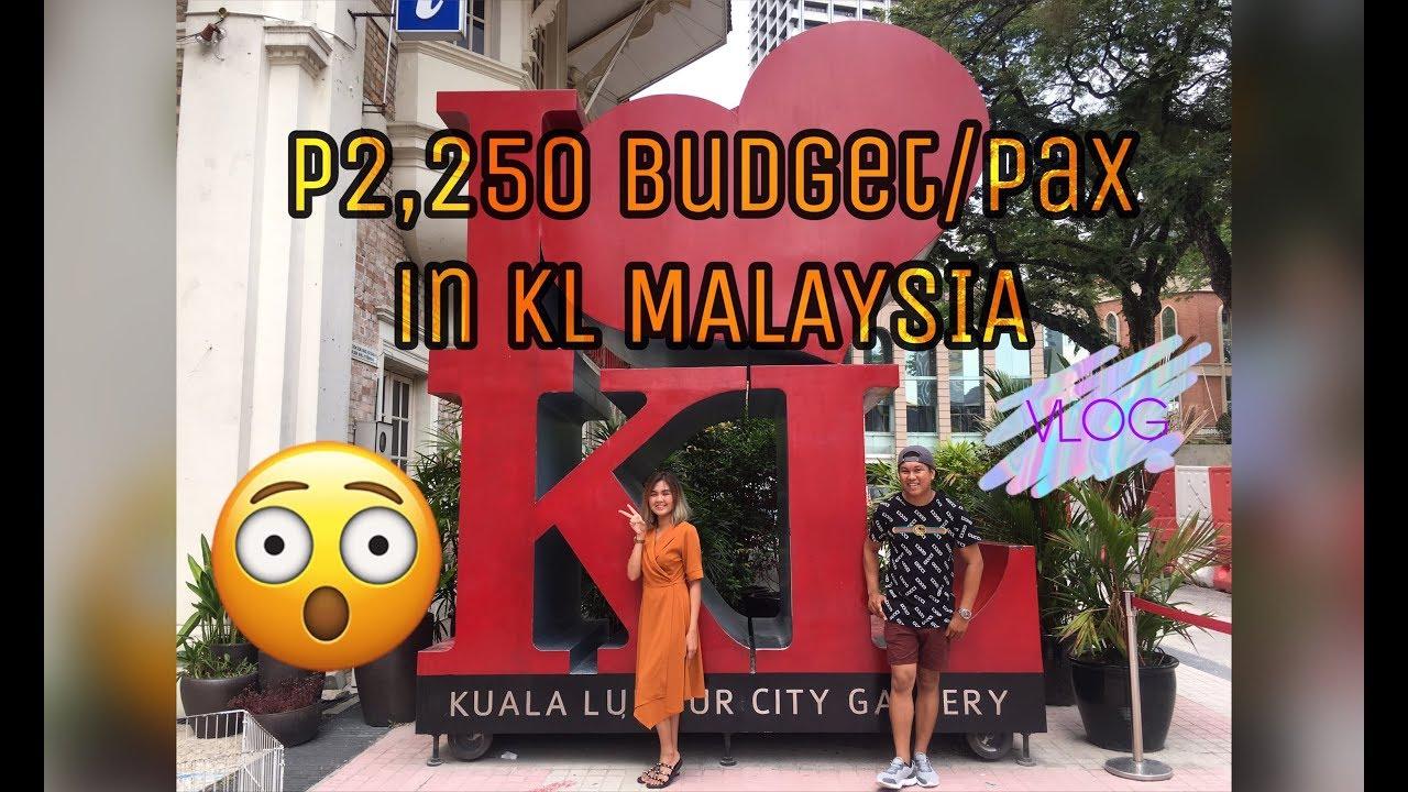 Kuala Lumpur Travel Vlog| 2019 (DIY TIPID TRIP) 2k budget