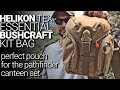 Helikon Tex Essential Canteen Pouch/ Bushcraft Kit Bag:  Perfect Pathfinder School Canteen Pouch