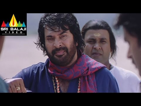 Dronacharya Movie Mammootty Killed Scene | Mammootty, Navya Nair | Sri Balaji Video