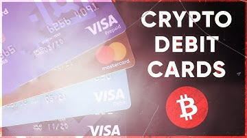 Crypto Debit Cards (How to use & cash out Cryptocurrency) Visa / Mastercard
