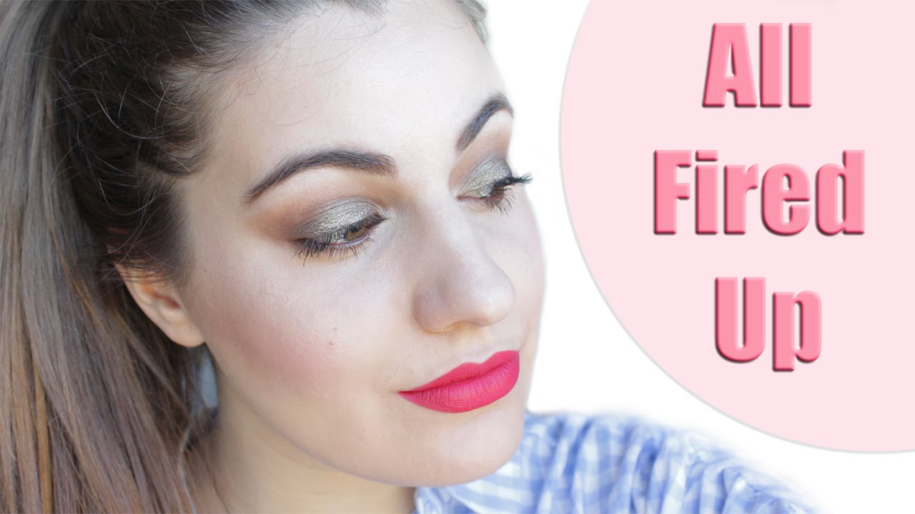 Favori Look Con Labial All Fired Up De Mac - YouTube XZ42