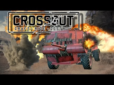 THE GREAT PINK STINK! | CrossOut Closed Beta Creation Showcase