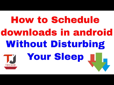 Best Alternative To IDM For Android || How To Schedule Downloads In Android